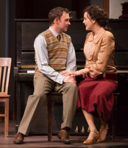 Nate Corddry and Rachel Napoleon in June Moon. Photo © T Charles Erickson.