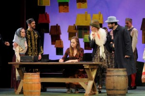 A Scene from Smetana's Bartered Bride by the Boston Midsummer Opera.