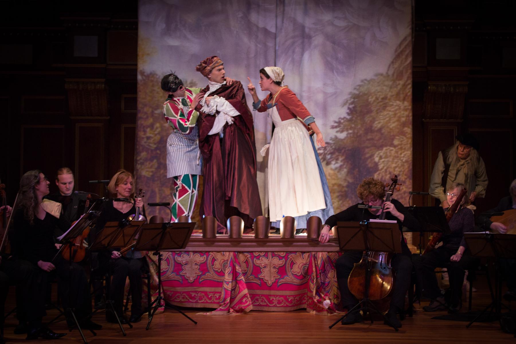 The BEMF Chamber Operas 2014: Pergolesi's La serva padrona and Livietta e Tracollo