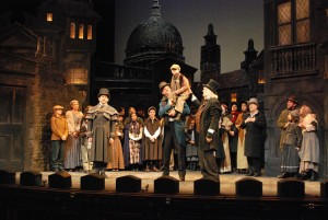 Berkshire Theatre Group's production of A Christmas Carol.