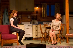 "Mary Wiseman and Kyra Sedgwick in William Inge's ""Off the Main Road."" Photo T. Charles Anderson."