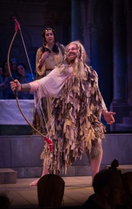 "Colin Balzer as Ulisse in BEMF's production of Monteverdi's ""Il ritorno di Ulisse in patria."" Photo Frank Siteman."