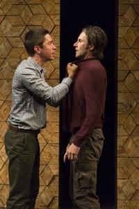 Justin Long and Josh Hamilton in An Intervention. Photo T Charles Erickson.