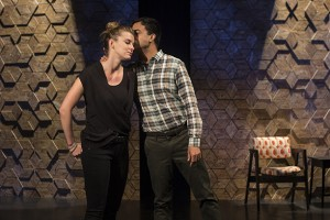 Betty Gilpin and Debargo Sanyal in An Intervention. Photo T. Charles Erickson.
