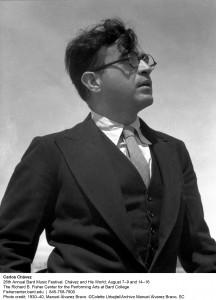 Carlos Chavez by Manuel Álvarez Bravo. ca. 1930-40, © Colette Urbajtel/Archivo Manuel Álvarez Bravo, SC