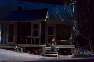 """udra McDonald in """"A Moon for the Misbegotten."""" Photo T. Charles Erickson."""