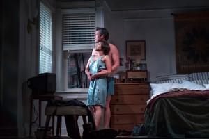 Angel Desai and Darren Pettie in Frankie and Johnny in the Clair de Lune, 2015. Photo Michelle McGrady.