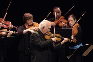 The Boston Conservatory Grand Opening Performance featuring Joseph Silverstein, violin Photo Eric Antoniou.