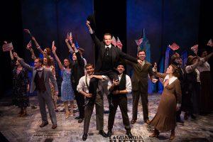 A Scene from Fiorello! Photo Emma K. Rothenberg-Ware