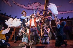 Gilbert and Sullivan's The Pirates of Penzance at the Barrington Stage Company. Photo Kevin Sprague.
