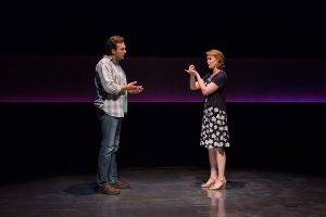 """Kate Baldwin and Graham Rowat in """"Constellations,"""" BTG, 2016. Photos Emma Rothenberg-Ware."""