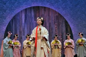 Inna Los as Cio-Cio-San in Puccini's Madama Butterfly at the Berkshire Opera Festival. Photo Ken Howard.