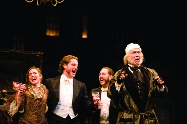 "Eric Hill and Company in ""A Christmas Carol"""