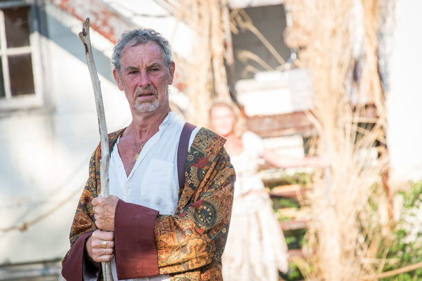 Nigel Gore as Prospero. Photo Stratton McCrady