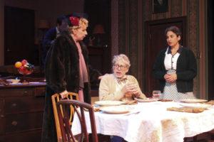 "Amy Hayes, Richard Howe, Sarah Corey in ""Broadway Bound"""