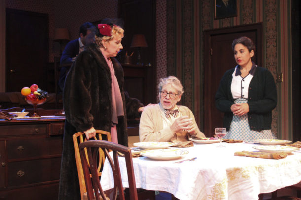 "Amy Hayes, Richard Howe, Sarah Corey in ""Broadway Bound"""