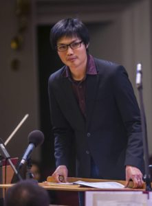 Yu An Chang, the new Assistant Conductor of the BSO