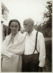 Georgia O'Keefe and Alfred Stieglitz. Photographer Unknown.