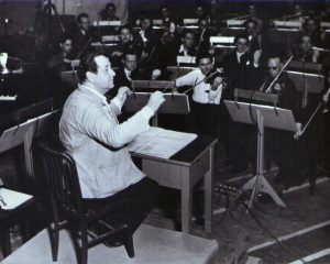 Korngold Conducting at Warner Brothers. Bard Music Festival—Erich Wolfgang Korngold's Trajectory: The Symphony In F#, Music For Hollywood, Chamber Music, by Larry Wallach