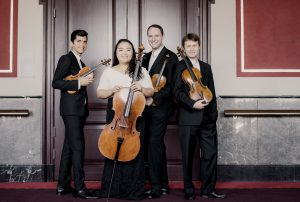 Calidore String Quartet. Photo: Marco Borggreve.