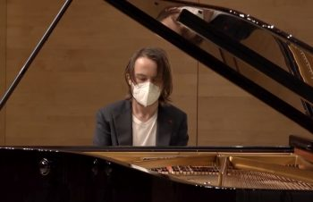 Daniil Trifonov in White Mask