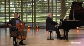 Yo-Yo Ma and Emanuel Ax Alone at Tanglewood